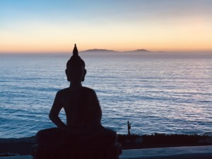 Meditation practice forms a part of a work here at Serenity Beach Ibogaine Treatment Center, Baja, Mexico