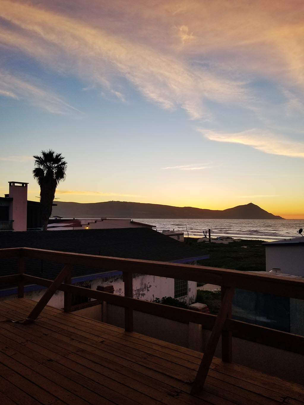 Sunset at Serenity Beach Wellness, Baja California, Mexico